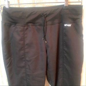 Grey's Anatomy Active Black Scrub Pant size SP $28